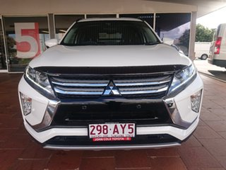 2018 Mitsubishi Eclipse Cross YA LS (2WD) White Continuous Variable Wagon