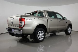 2012 Ford Ranger PX XLT 3.2 (4x4) Gold 6 Speed Automatic Double Cab Pick Up