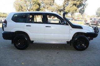2006 Toyota Landcruiser Prado KZJ120R GX (4x4) White 5 Speed Manual Wagon