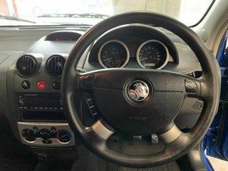 2006 Holden Barina TK Blue 5 Speed Manual Hatchback