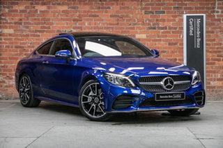 2021 Mercedes-Benz C-Class C205 801MY C300 9G-Tronic 896-Brilliant Blue Metallic 9 Speed.