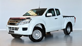 2016 Isuzu D-MAX MY15.5 SX Space Cab White 5 Speed Sports Automatic Cab Chassis.