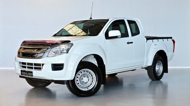 Used Isuzu D-MAX MY15.5 SX Space Cab Thomastown, 2016 Isuzu D-MAX MY15.5 SX Space Cab White 5 Speed Sports Automatic Cab Chassis