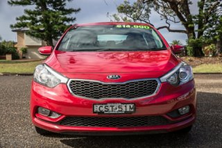 2014 Kia Cerato YD MY14 S Temptation Red 6 Speed Sports Automatic Hatchback
