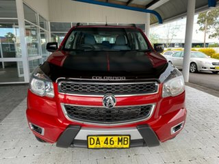 2015 Holden Colorado Z71 Red Sports Automatic Dual Cab Utility.