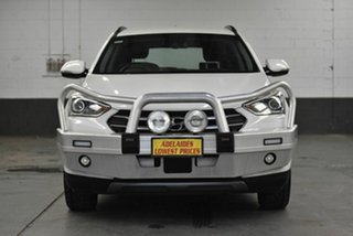 2017 Hyundai Santa Fe DM5 MY18 Active White 6 Speed Sports Automatic Wagon.