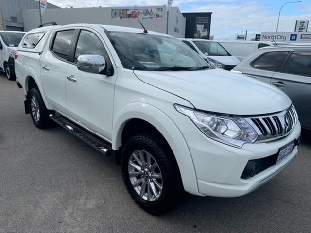 Used Mitsubishi Triton MQ MY16 Exceed Double Cab Osborne Park, 2015 Mitsubishi Triton MQ MY16 Exceed Double Cab White 5 Speed Sports Automatic Utility