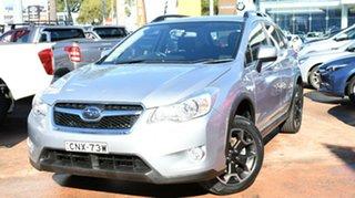 2013 Subaru XV MY13 2.0I Silver Continuous Variable Wagon.