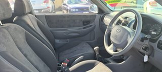 2005 Hyundai Accent LC MY04 GL Silver 5 Speed Manual Hatchback