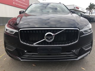 2018 Volvo XC60 UZ MY19 T5 AWD Momentum Black 8 Speed Sports Automatic Wagon