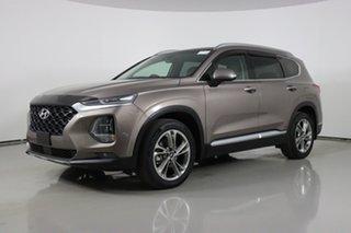 2019 Hyundai Santa Fe TM Highlander CRDi Satin AWD Bronze 8 Speed Automatic Wagon.