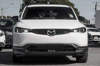 2021 Mazda MX-30 DR2W7A G20e SKYACTIV-Drive Evolve White 6 Speed Sports Automatic Wagon.