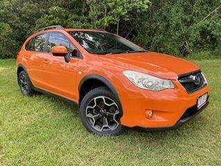 2012 Subaru Impreza MY11 XV (AWD) Orange 5 Speed Manual Hatchback.