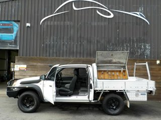 2007 Mazda BT-50 UNY0E3 DX+ Freestyle White 5 Speed Manual Cab Chassis