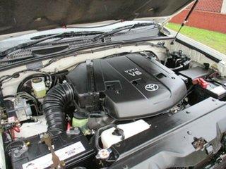 2009 Toyota Landcruiser Prado GRJ120R GXL White 5 Speed Automatic Wagon