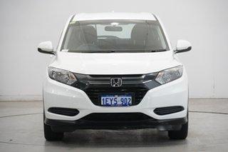 2016 Honda HR-V MY16 VTi White 1 Speed Constant Variable Hatchback.