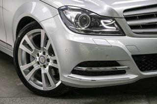 2012 Mercedes-Benz C-Class W204 MY12 C250 CDI BlueEFFICIENCY 7G-Tronic + Avantgarde Iridium Silver.