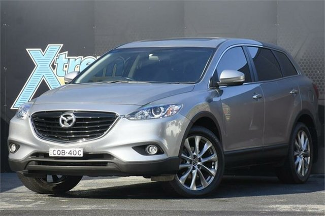 Used Mazda CX-9 TB10A5 MY14 Luxury Activematic Campbelltown, 2013 Mazda CX-9 TB10A5 MY14 Luxury Activematic Grey 6 Speed Sports Automatic Wagon