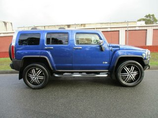 2008 Hummer H3 Luxury Blue 4 Speed Automatic Wagon.