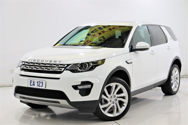 Used Land Rover Discovery Sport L550 17MY TD4 150 HSE Brooklyn, 2017 Land Rover Discovery Sport L550 17MY TD4 150 HSE White 9 Speed Sports Automatic Wagon