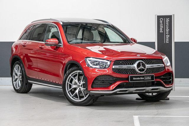 Certified Pre-Owned Mercedes-Benz GLC-Class X253 800+050MY GLC300 9G-Tronic 4MATIC Mulgrave, 2020 Mercedes-Benz GLC-Class X253 800+050MY GLC300 9G-Tronic 4MATIC Designo Hyacinth Red Metallic