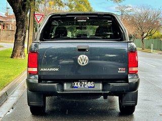 2014 Volkswagen Amarok 2H MY15 TDI420 4MOTION Perm Dark Label Blue 8 Speed Automatic Utility