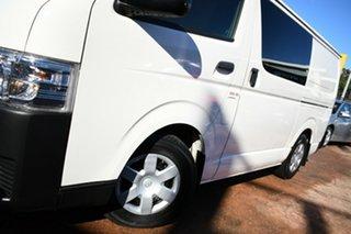 2017 Toyota HiAce KDH201R MY16 LWB White 4 Speed Automatic Van.