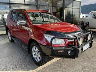2013 Holden Colorado 7 RG MY14 LTZ (4x4) Red 6 Speed Automatic Wagon.