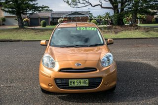 2012 Nissan Micra K13 ST-L Gold 4 Speed Automatic Hatchback.