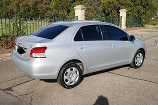 2009 Toyota Yaris NCP93R 08 Upgrade YRS Silver 4 Speed Automatic Sedan