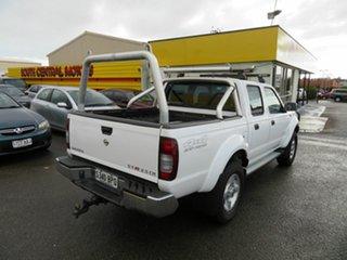 2015 Nissan Navara D22 Series 5 ST-R (4x4) White 5 Speed Manual Dual Cab Pick-up