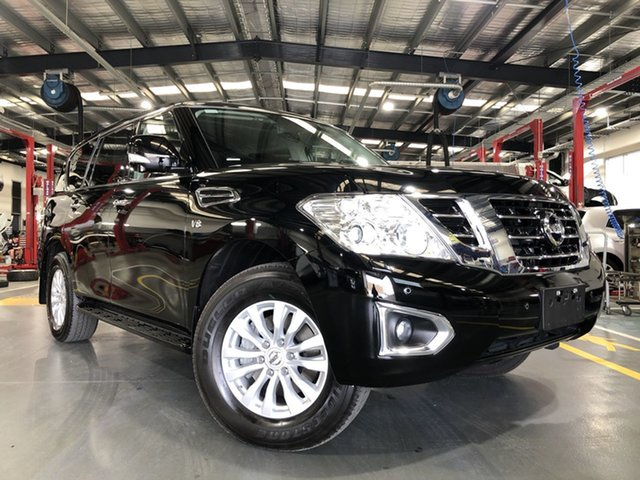 Pre-Owned Nissan Patrol Y62 Series 4 TI-L Oakleigh, 2019 Nissan Patrol Y62 Series 4 TI-L Black 7 Speed Sports Automatic Wagon