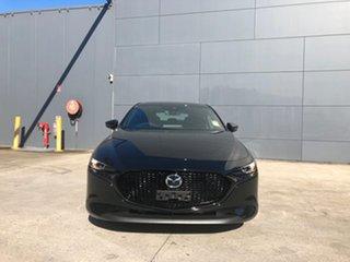 2021 Mazda 3 BP2H7A G20 SKYACTIV-Drive Touring Jet Black 6 Speed Sports Automatic Hatchback.