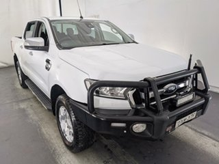 2018 Ford Ranger PX MkII 2018.00MY XLT Double Cab 4x2 Hi-Rider White 6 Speed Sports Automatic.