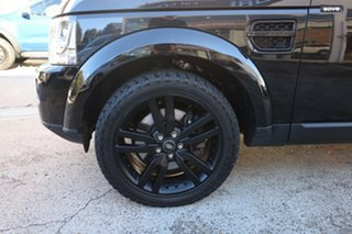 2015 Land Rover Discovery MY16 3.0 SDV6 HSE Black 8 Speed Automatic Wagon.