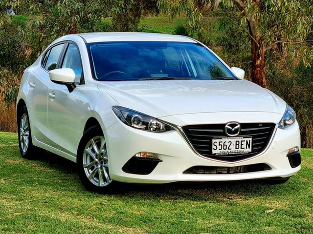 Used Mazda 3 BM5276 Maxx SKYACTIV-MT Morphett Vale, 2014 Mazda 3 BM5276 Maxx SKYACTIV-MT White 6 Speed Manual Sedan
