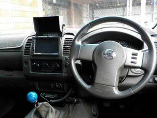 2006 Nissan Navara D40 ST-X Grey 6 Speed Manual Utility