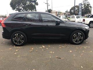 2018 Volvo XC60 UZ MY19 T5 AWD Momentum Black 8 Speed Sports Automatic Wagon.