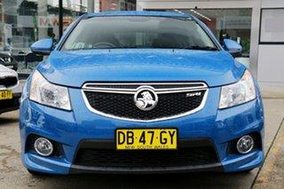 2012 Holden Cruze JH Series II MY13 SRi-V Blue 6 Speed Manual Hatchback