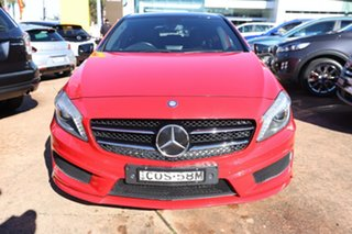 2013 Mercedes-Benz A200 176 BE Red 7 Speed Automatic Hatchback