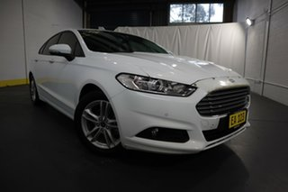 2017 Ford Mondeo MD Facelift Ambiente White 6 Speed Automatic Hatchback.