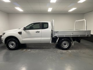 2015 Ford Ranger PX MkII XL Hi-Rider Cool White 6 Speed Sports Automatic Cab Chassis