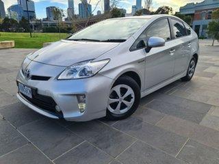 2014 Toyota Prius ZVW30R MY12 Silver 1 Speed Constant Variable Liftback Hybrid.