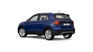 2021 Volkswagen T-Cross C1 85TSI Style Reef Blue Metallic 7 Speed Semi Auto SUV.