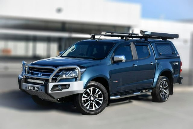 Used Holden Colorado RG MY17 LTZ Pickup Crew Cab Pakenham, 2016 Holden Colorado RG MY17 LTZ Pickup Crew Cab Blue 6 Speed Sports Automatic Utility