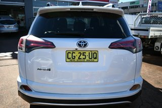 2015 Toyota RAV4 ZSA42R MY14 Upgrade GXL (2WD) White Continuous Variable Wagon