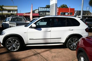 2012 BMW X5 E70 MY12 Upgrade xDrive30d White 8 Speed Automatic Sequential Wagon