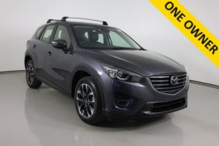 2016 Mazda CX-5 MY15 Akera (4x4) Grey 6 Speed Automatic Wagon.