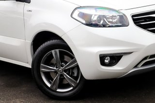 2012 Renault Koleos H45 Phase II Dynamique White 1 Speed Constant Variable Wagon