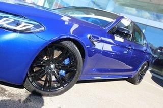 2020 BMW M5 F90 Competition LCI Marina Bay Blue 8 Speed Auto Steptronic Sport Sedan.